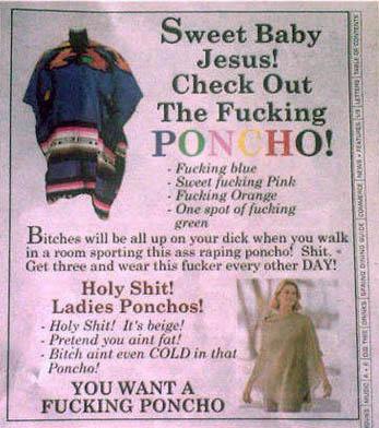 ponchoad